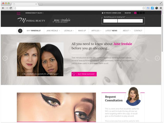 web-design-for-beauty-article-resource-site