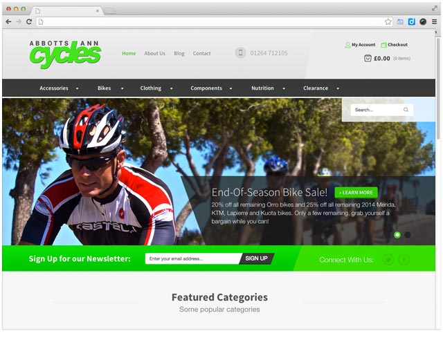 web-design-for-bike-shop-abbotts-ann
