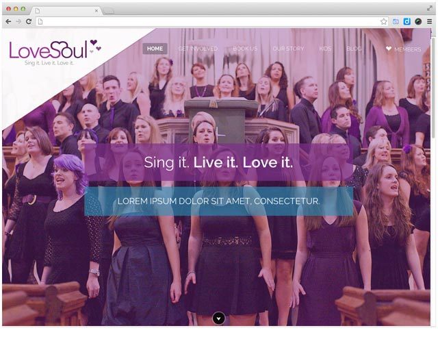 web-design-for-choir