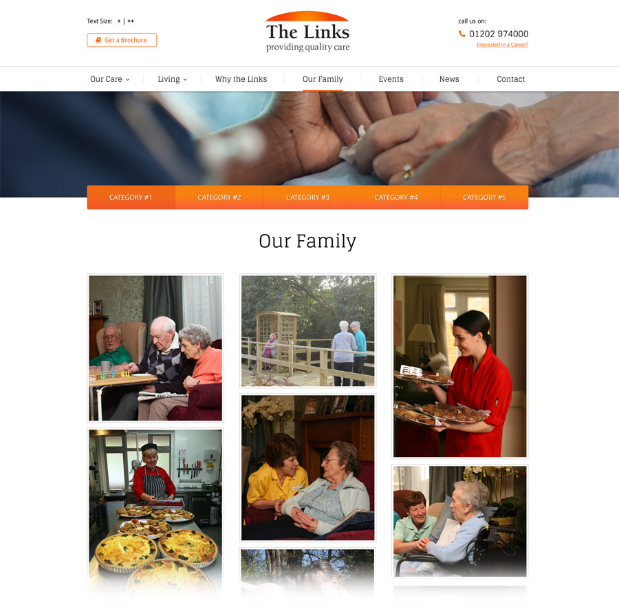 care-home-web-design-concept-ourfamily