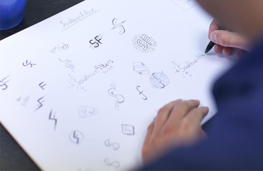 logo-branding-sketches