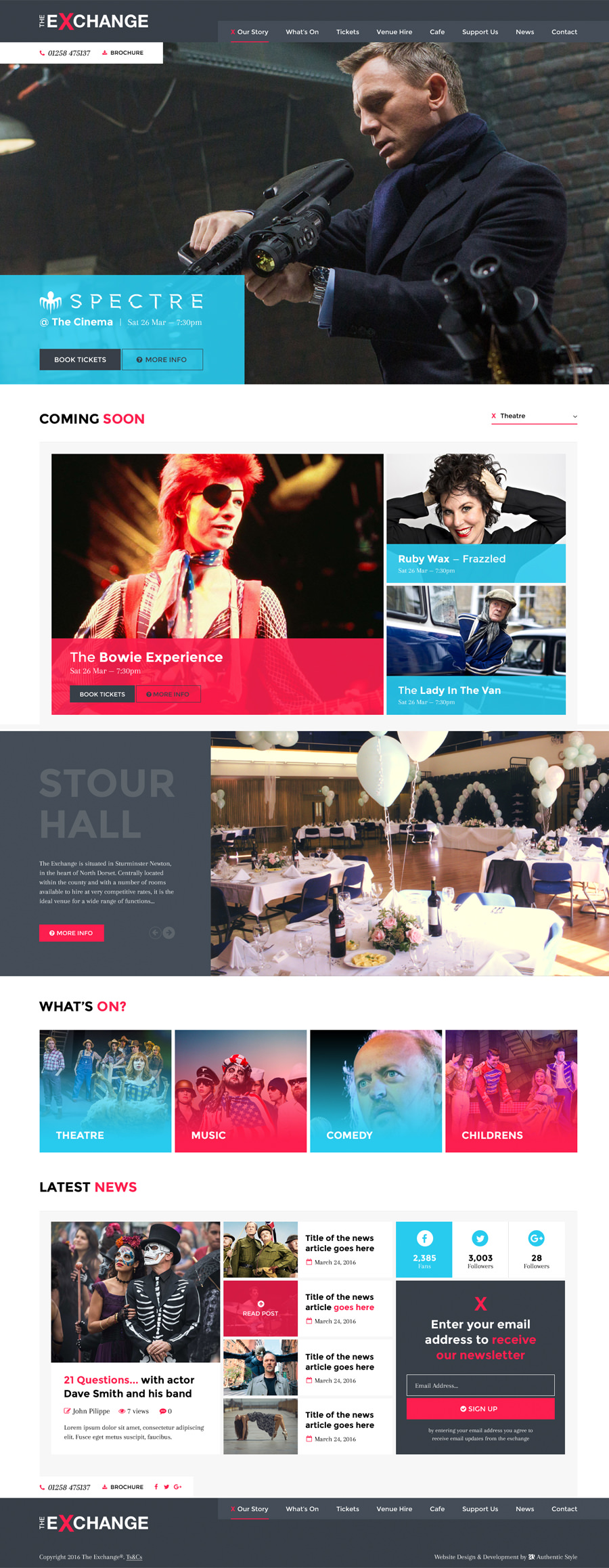 theatre-website-design-dorset-the-exchange