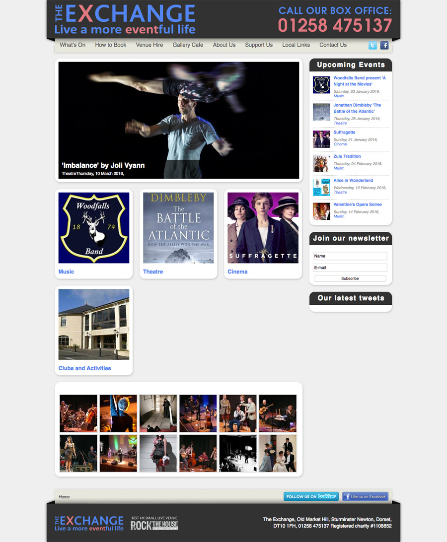 theatre-website-design-oldwebsite
