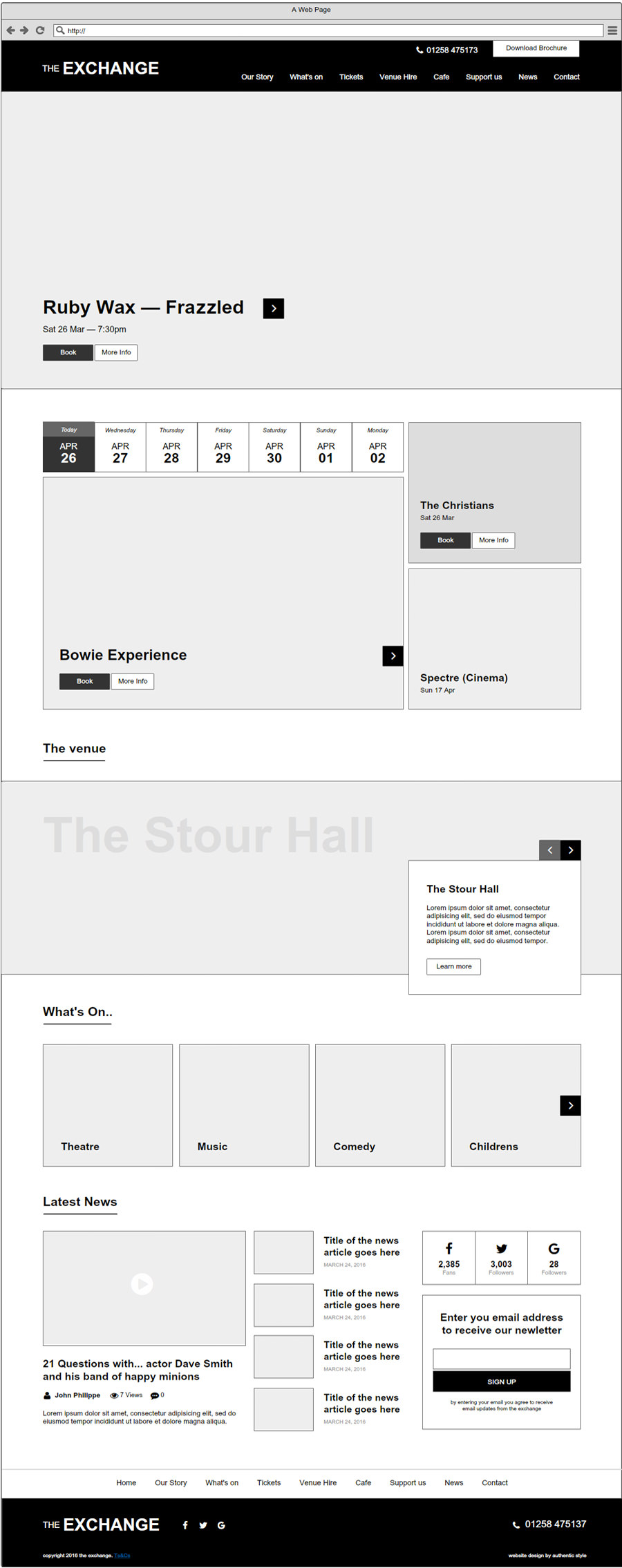 theatre-website-design-wireframe-home
