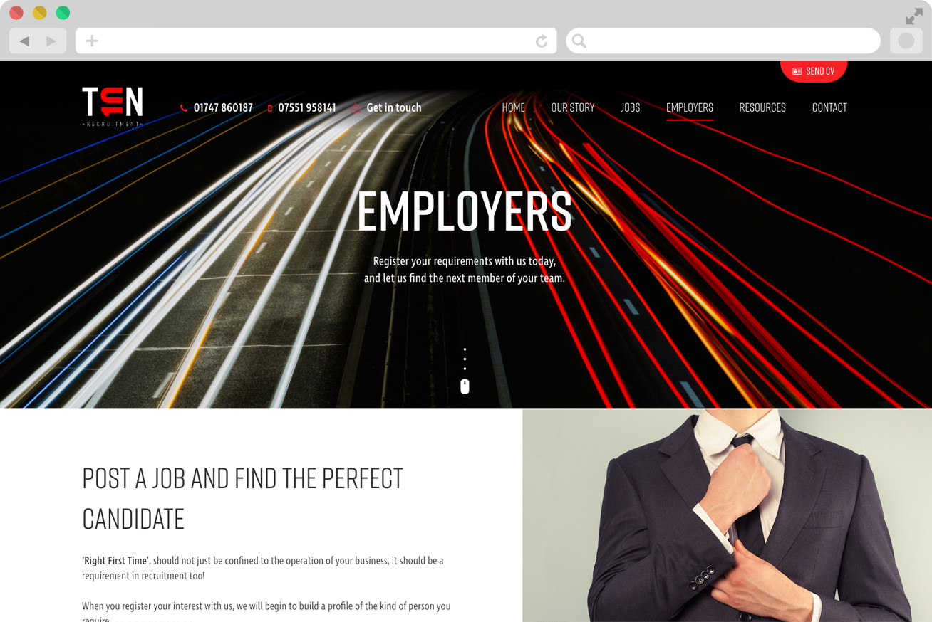 recruitment-company-web-design-dorset