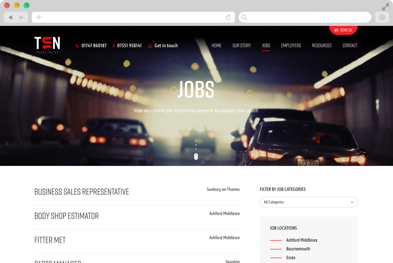 job-board-web-design
