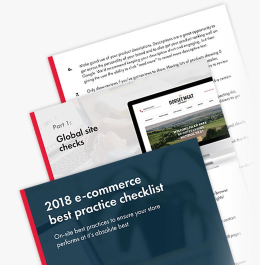 authenticstyle-Sign-up for our 2018 ecommerce best practice checklist 1