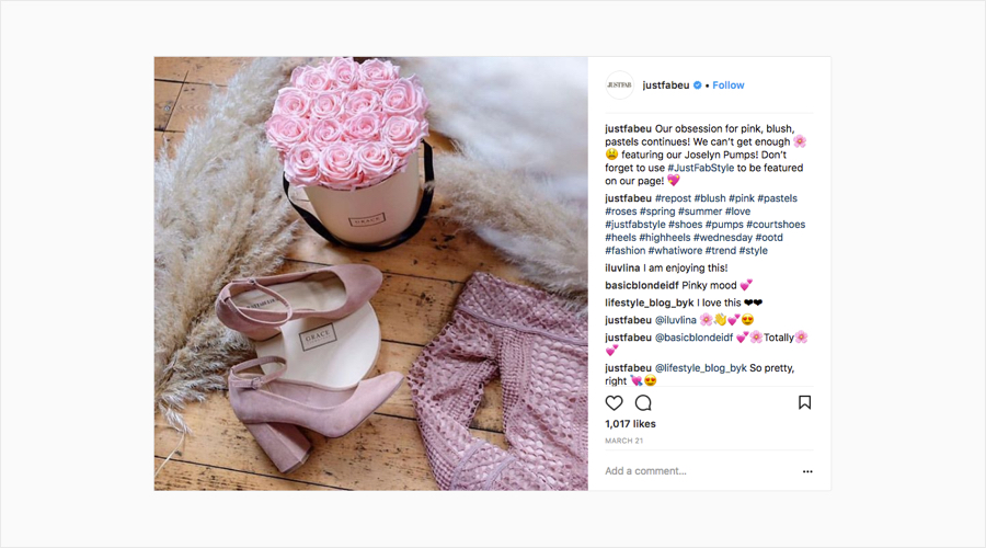 authenticstyle-Ecommerce Companies Winning on Instagram 17