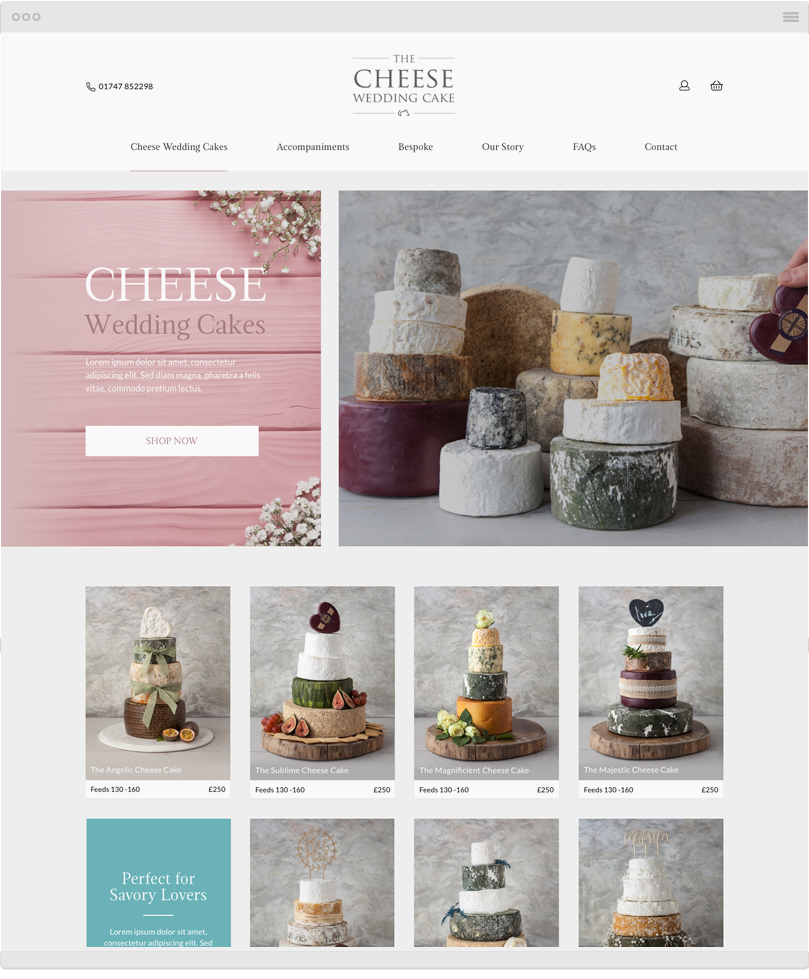 authenticstyle-The Cheese Wedding Cake 2