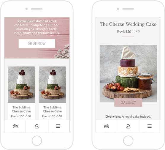 authenticstyle-The Cheese Wedding Cake 4