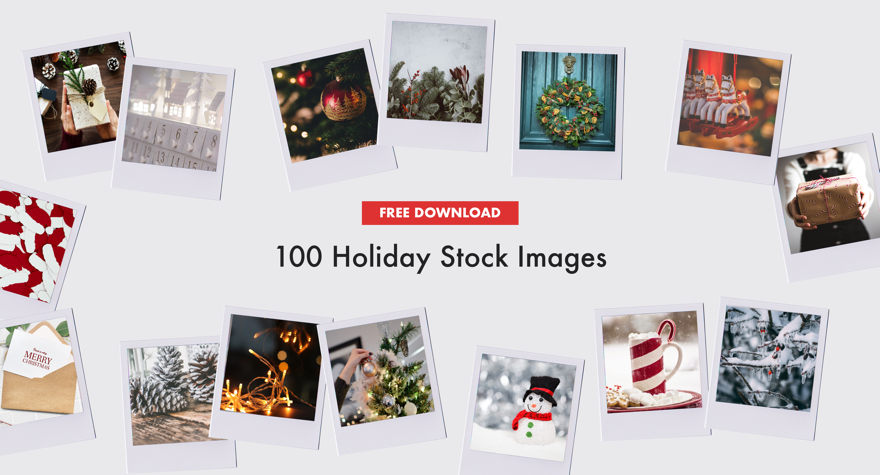 authenticstyle-FREE Marketing Download: 100 Holiday Stock Images