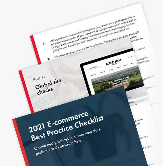 Ecommerce Best Practices Checklist 2021 [Free PDF]