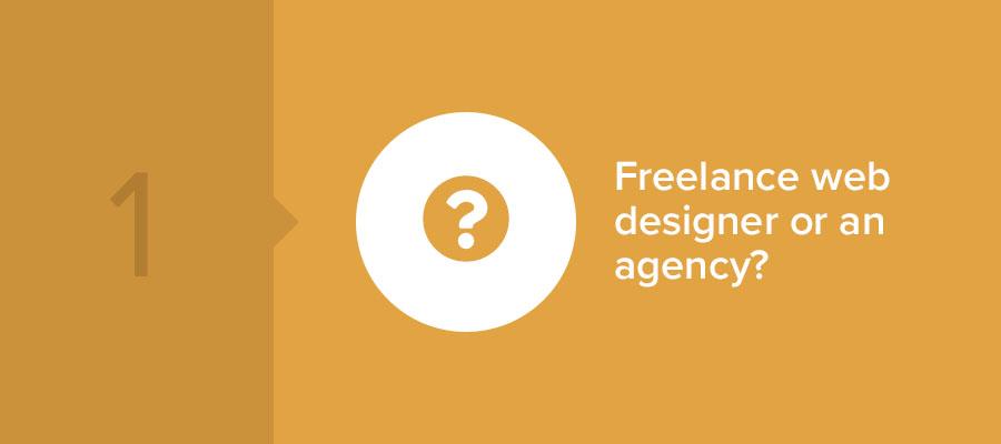 freelance web designer or agency near me?