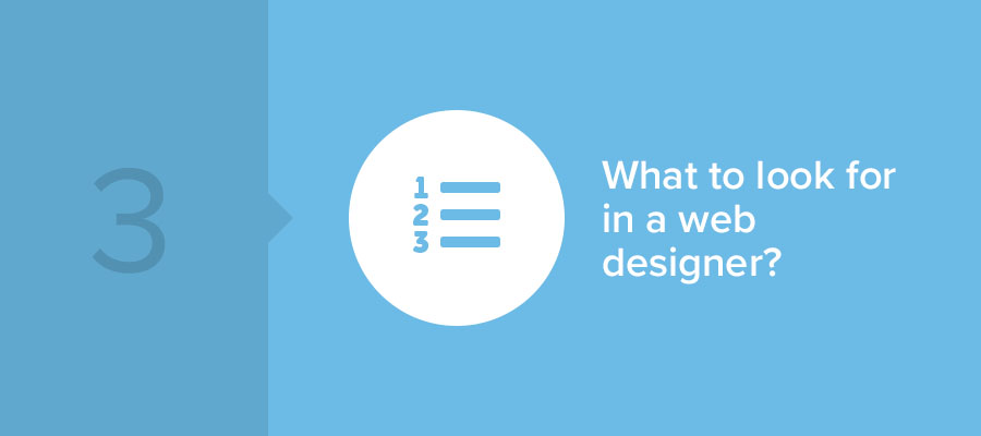 what to look for in web designers?